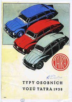 Tatra T77A - T87 - T97 ad