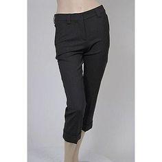 Phi Chino Capri Womens Pants Black Size 4