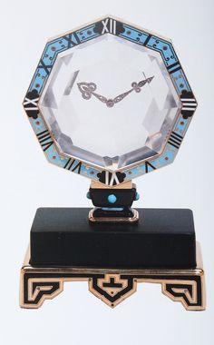 Cartier Art Deco Clock  Images courtesy Sotheby's and Christie's Images.  For educational purposes only.  Clive Kandel Jewelry Collection   www.newyorkjewelrydiary.com www.youtube.com/user/CliveKandel?feature=mhee  Clive Kandel Jewelry History Collection  Clive Kandel Cartier Collection