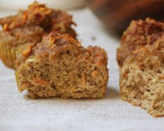 Zucchini Carrot Spiced Muffins  1/2 cup ripe banana  4 organic mejool dates, pitted  2 teaspoons vanilla extract  5 eggs  1/2 cup coconut fl...