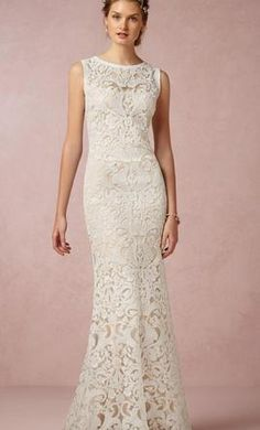 """BHLDN """"Ines Gown"""" by Tadashi Shoji 4: buy this dress for a fraction of the salon price on PreOwnedWeddingDresses.com"""
