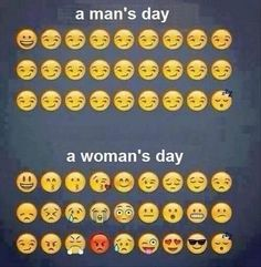 Men's Day vs Women's Day. Haha so true lol