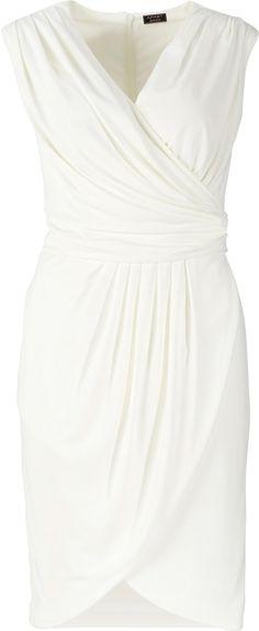 Elegantes Kleid fürs Standesamt. Brautkleid, Wickeloptik, Elegant, schlicht