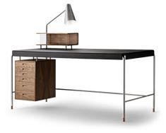 Arne Jacobsen Arne Jacobsen, Unique Furniture, Furniture Design, Chair Design, Design Design, Copenhagen Hotel, New York Office, Vanity Desk, Drawer Unit
