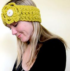 Mel P Designs: Free crochet headband earwarmer pattern