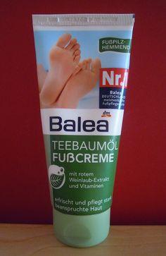 Balea Teebaumöl Fußcreme - Foot stuff. Its good :)