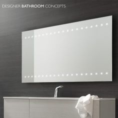 Large Bathroom Mirrors With Lights