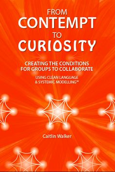 Caitlin Walker's new book - From Contempt to Curiosity - Creating the Conditions for Groups to Collaborate using Clean Language and Systemic Modelling Curiosity, New Books, Collaboration, Coaching, Communication, Encouragement, Conditioner, This Book, Language