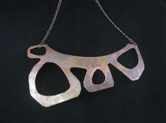 organic copper collar  Taylor Allen Jewelry :: Blog