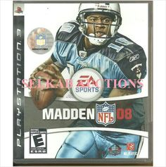 Madden NFL O8 Playstation 3 PS3 Game Blu-Ray-Disc, Manual and Original Case Used 014633357080 on eBid Canada