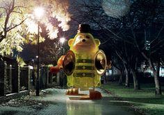 Night Visitors #01 by Adrian Samson