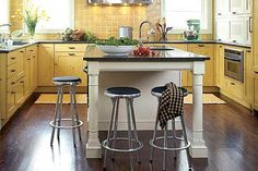 Find out the best and awesome kitchen island design & ideas for your dream kitchen Kitchen Reno, Kitchen Tiles, New Kitchen, Kitchen Storage, Kitchen Remodel, Kitchen Dining, Island Kitchen, Awesome Kitchen, Pictures Of Kitchen Islands
