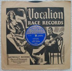 """Robert Johnson's 10"""" 78 rpm, 1937 copy of """"32-20 Blues"""", Vocalion Label"""
