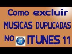 Como excluir músicas duplicadas no iTunes 11 e ganhar mais espaço no HD Encontrar e excluir músicas duplicadas na biblioteca do iTunes 11 é possível graças a uma ferramenta nativa do software. Preparei este tutorial que ensina como deletar canções duplicadas no programa da Apple, ganhando um pouco mais de espaço no seu HD.