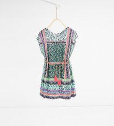 Imagen 1 de Vestido flores de Zara