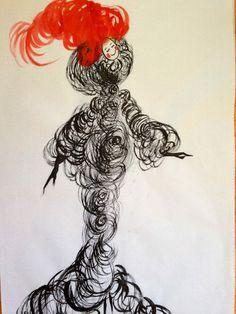 Colleen Quen | Watercolor | Fashion Illustration