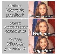 Yasss... I should start saying this :-) not the the police though... ;)