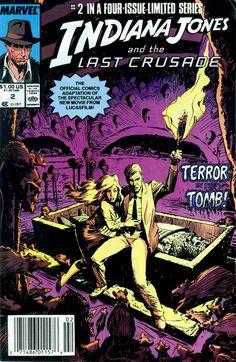 Indiana Jones and the Last Crusade #2 Marvel Comics