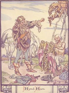 Henry Matthew Brock 'Hynd Horn' from A Book of Old Ballads (1934)