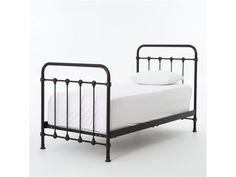 kingsley iron twin bed metal twin bed frametwin - Metal Twin Bed Frame