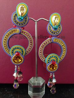 Our Happy earrings on display at Jeeba Jewellery, Melbourne #DoriCsengeri…