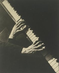 Hands of Paul Arma, Cami (1898 - 1975) and Sasha (1895 - 1940)...