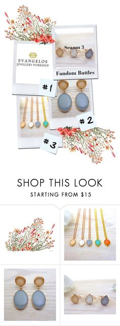 Evangelos Jewellery by kiveric-damira on Polyvore featuring moda and Post-It
