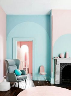 Pantone 2016 Rose Quartz et Bleu Sérénité / Serenity Pantone 2016, Color Pantone, Home Interior, Interior Decorating, Interior Designing, Interior Styling, Decorating Ideas, Interior Shop, Simple Interior