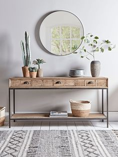 hallway decorating 723250021391217126 - Industrial Iron Console Table – Console Tables – Dining, Coffee & Side Tables – Luxury Home Furniture Source by Iron Console Table, Iron Table, Console Table With Mirror, Console Table Decor, Console Table Living Room, Decorate Console Tables, Console Table Mirror, Sideboard Decor, Narrow Console Table
