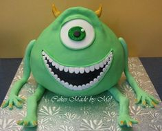 Monsters Inc Cake that I made