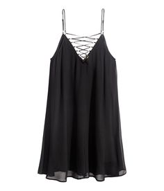 Dress with Lacing | Party in H&M