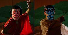 Etsy の Luminary Mask Kabuki & Hannya by Makebright Darth Vader, Etsy, Fictional Characters, Fantasy Characters