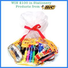 WIN $100 In BIC Stationery Products at FacesByFarah.com! The 100, Stationery, Products, Papercraft, Paper Mill, Office Supplies, Beauty Products, Craft Supplies