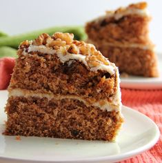 The Growing Foodie: Sassy Sweets: Carrot Cake with Cream Cheese Frosting