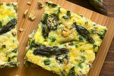 Asparagus and Prosciutto Pasta Frittata Best Lunch Recipes, Clean Recipes, Breakfast Recipes, Sweet Potato Frittata, Asparagus Frittata, Feta, Lemon Basil Chicken, Lunch Restaurants, Roasted Fennel