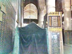 Grave of Rasulullah in Nabawi (inside view)