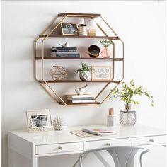 Wood Floating Shelves, Wood Shelves, Floating Shelf Decor, In Wall Shelves, Ikea Shelves, Wall Shelves Design, White Shelves, Hanging Shelves, Room Ideas Bedroom