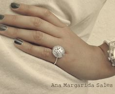 Punctured Sterling Ring. €25.00, via Etsy.