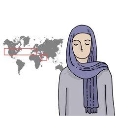 ¿Sabías que en el islam hay diferentes tipos de velos y cada uno significa algo diferente?   Upsocl