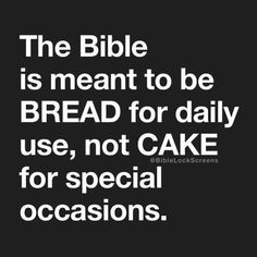 Let's spend time in God's Word daily! It is food for your soul! Religious Quotes, Spiritual Quotes, Positive Quotes, Motivational Quotes, Inspirational Quotes, Prayer Quotes, Bible Verses Quotes, Faith Quotes, Scriptures
