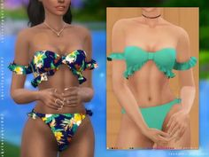 sims 4 cc // custom content clothing // Insomnia Bikini Swimsuit / - sims 4 cc // custom content clothing // Insomnia Bikini Swimsuit / Source by cassandrahampel - Sims Four, Sims 4 Mm, The Sims 4 Pc, Sims 4 Mods Clothes, Sims 4 Clothing, Los Sims 4 Mods, Vetements Clothing, Sims 4 Dresses, Teen Dresses