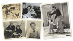 Love, Shirley Temple, Collector's Book: Lot # 480: Five Autographed Photographs from Co-Stars and Directors of Shirley Temple