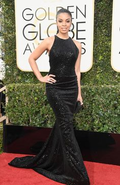 Susan Kelechi Watson - Every Best Dressed Look from the 2017 Golden Globes - Photos