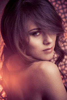 Sunset Makeup Model - Eva Ahačevčič #advisemystyle