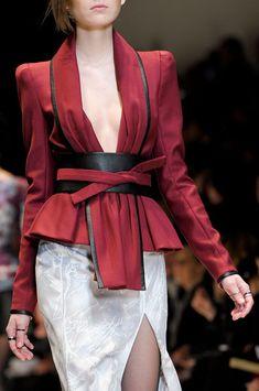Leonard Fall 2012 - obi belt designer style
