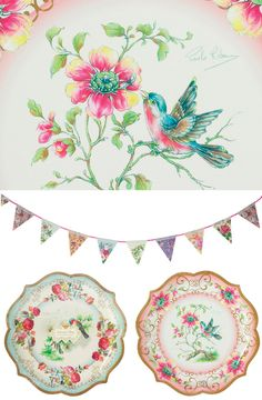 paper plates from Talking Tables