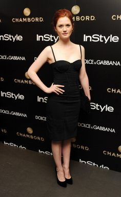 Bonnie Wright Photo: Bonnie Wright attends InStyle magazine and Dolce & Gabbana party Hottest Female Celebrities, Beautiful Celebrities, Celebs, Beautiful People, Beautiful Women, Bonnie Francesca Wright, Bonnie Wright, Gina Harry Potter, Skai Jackson