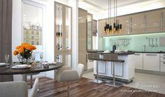 Стильная сдержанность, Студия дизайна Artpartner, Кухня, Дизайн интерьеров Formo.ua