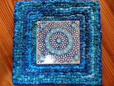 Rag Rug Intro to Locker Hooking with Wende Hughson Locker Hooking, Rug Hooking, Crazy Colour, Color, Fabric Rug, Fabric Crafts, Lockers, My Books, Make It Yourself