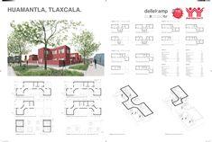 """Galería de """"Vivienda Unifamiliar Regional. 32 Entidades, 32 Arquitectos, 32 Propuestas"""": Arquitectos mexicanos realizan prototipos de vivienda mínima - 21"""